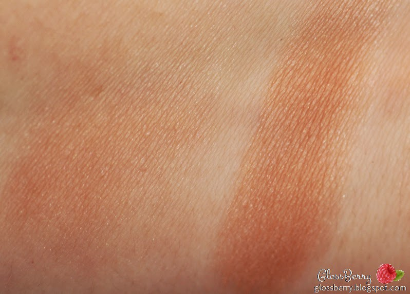 סמקים - Le Blush Creme De Chanel, Joues Contraste orchid rose סומק אבקה קרם שאנל chanel coral pink swatch review