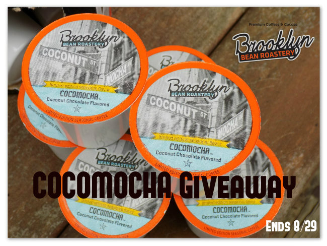 The Cocomocha Brooklyn Bean Roastery Giveaway! (1 Winner ~ 40 Ct K-Cups!) @BROOKLYNBEANS1