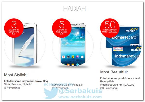Kontes Foto Berhadiah SAMSUNG Galaxy Mega Untuk 5 Pemenang