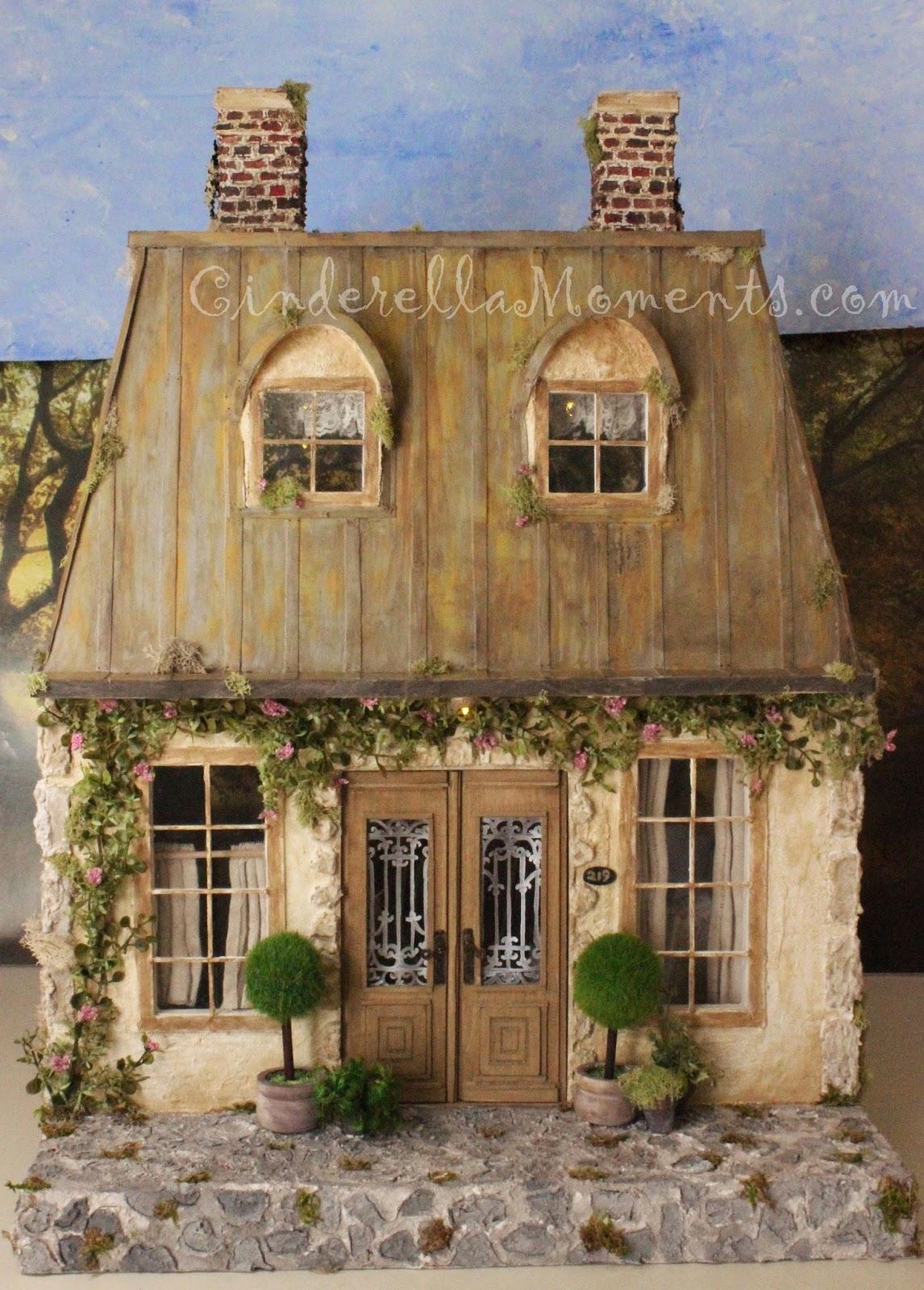 Cinderella moments la maison de campagne custom dollhouse - La maison de campagne ...