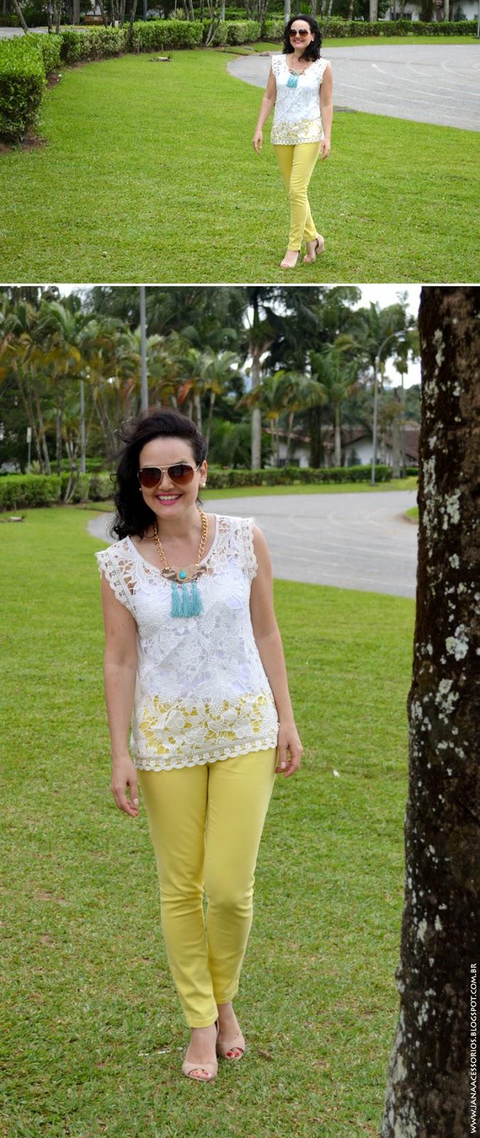 Blog da Jana, joinville, blogueira, jana acessórios, renda, acessórios, look, blogger, moda, fashion, style, Look da Jana