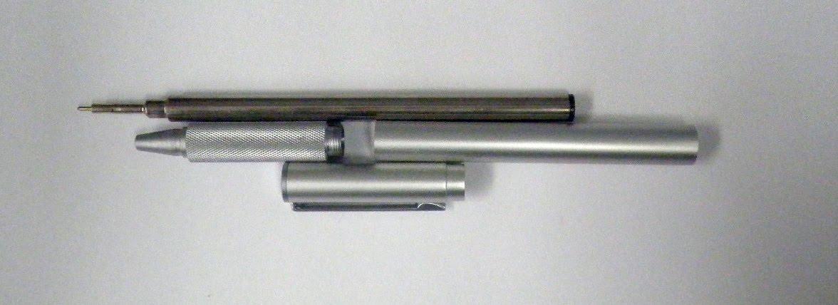 Pocket Blonde: Muji Aluminum Ballpoint Pen