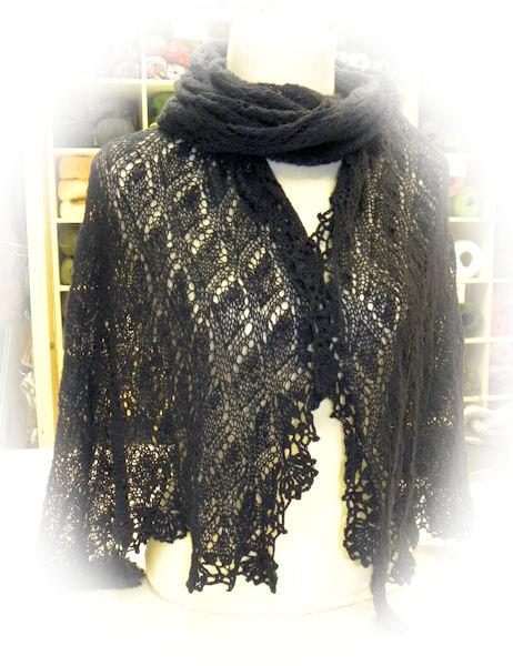 victoria sjaal patroon