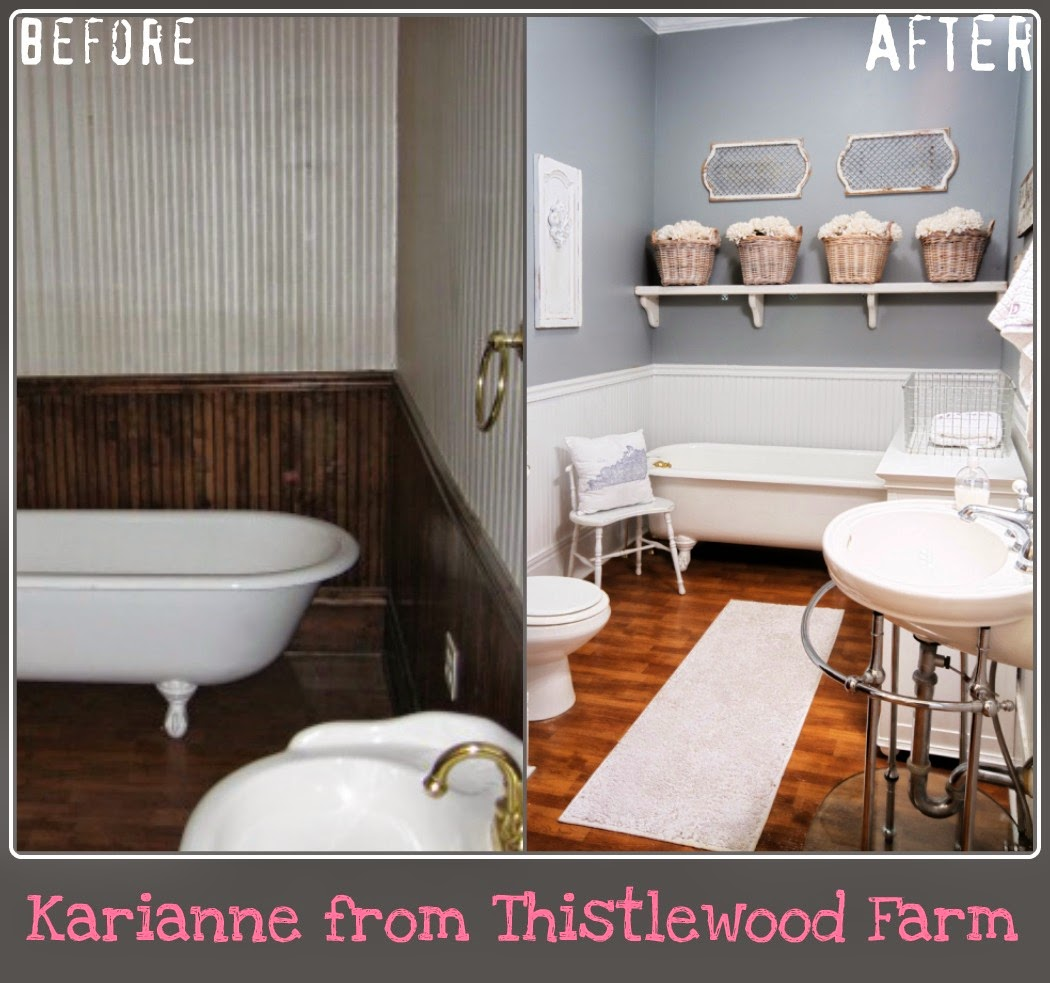 Ideas By Looking At The Images Below About Farmhouse Bathroom Ideas