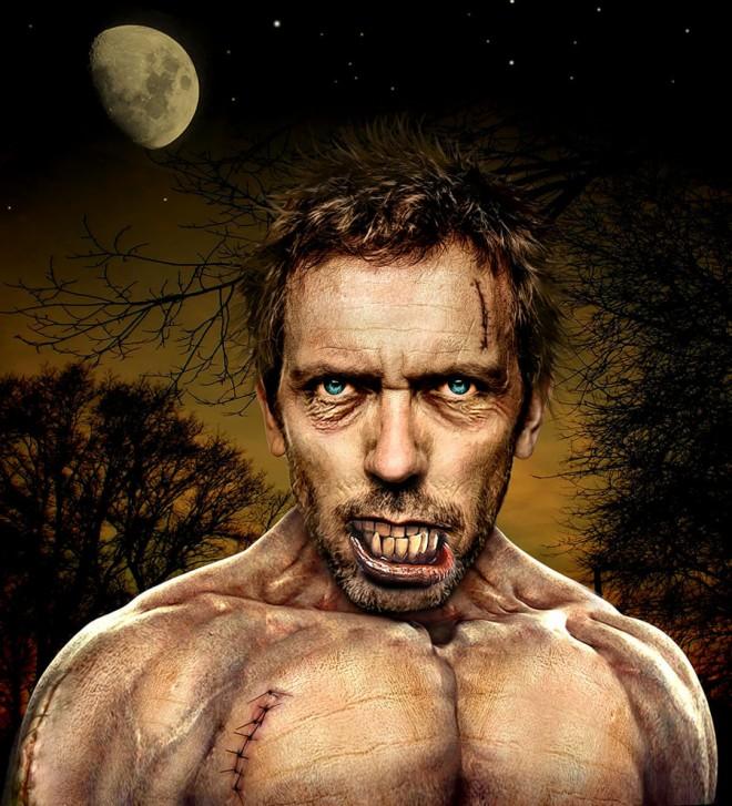 Hugh Laurie monster
