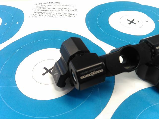 Les Stabilisations Dead Center Archery - La gamme Diamond Series IMG_20160310_162140