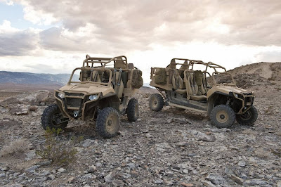 Polaris MRZR2 and MRZR4 Military RZRs