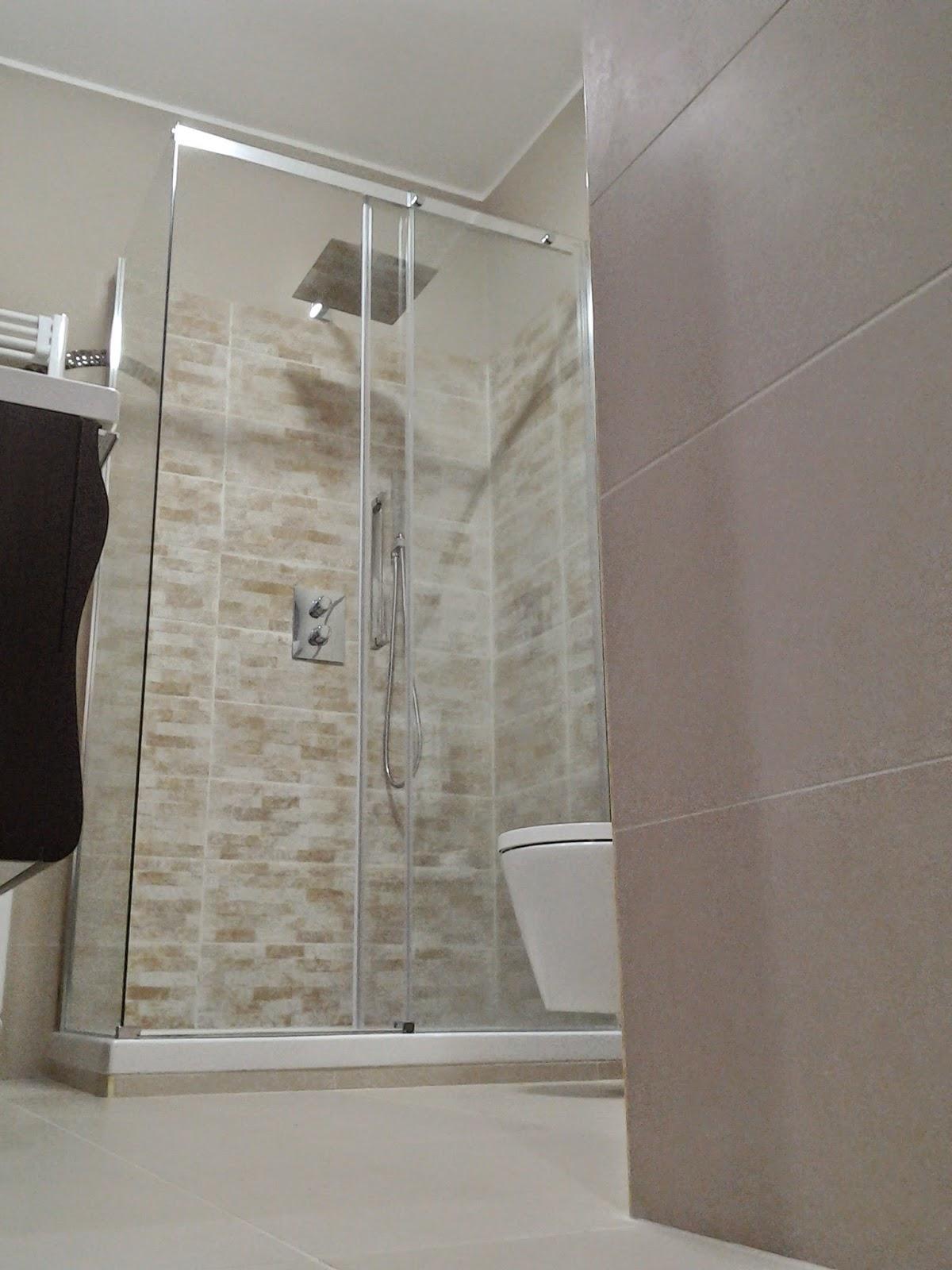Architetto gaetano frud bagno moderno - Bagno finta muratura ...