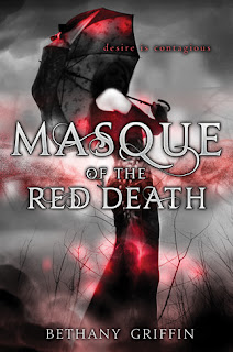 Cover image of young adult novel Masque of the Red Death by Bethany Griffin