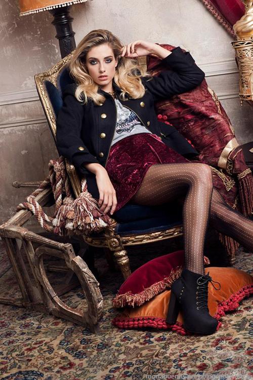 Sweet otoño invierno 2014 ropa de moda mujer. Moda otoño invierno 2014.