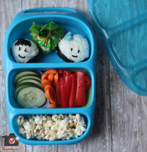 Goodbyn Bynto lunchbox onigiri school lunch - mamabelly.com