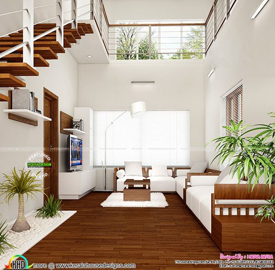 New Classical Interior Works At Trivandrum Home Design
