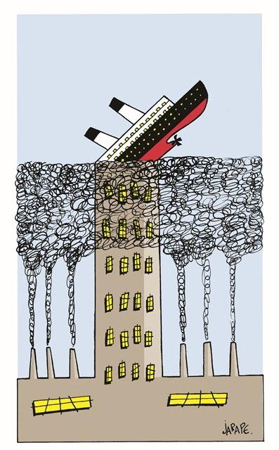 Contaminación Titanic