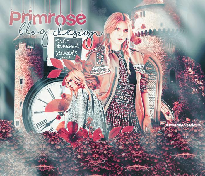 Primrose Blog Design