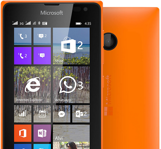 spesifikasi dan harga hp Microsoft Lumia 435 terbaru 2015