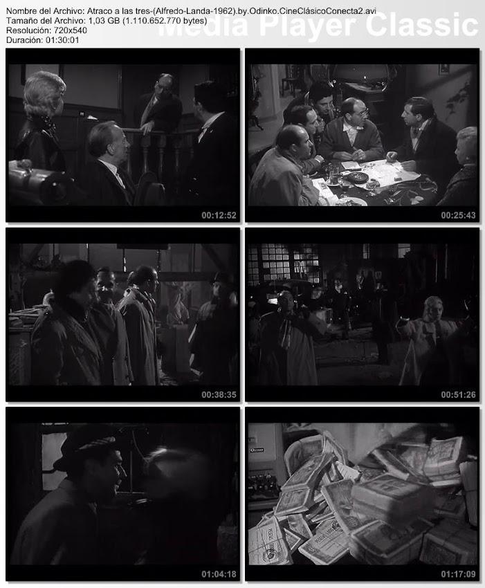 Atraco a las tres | 1962 | Con Alfredo Landa