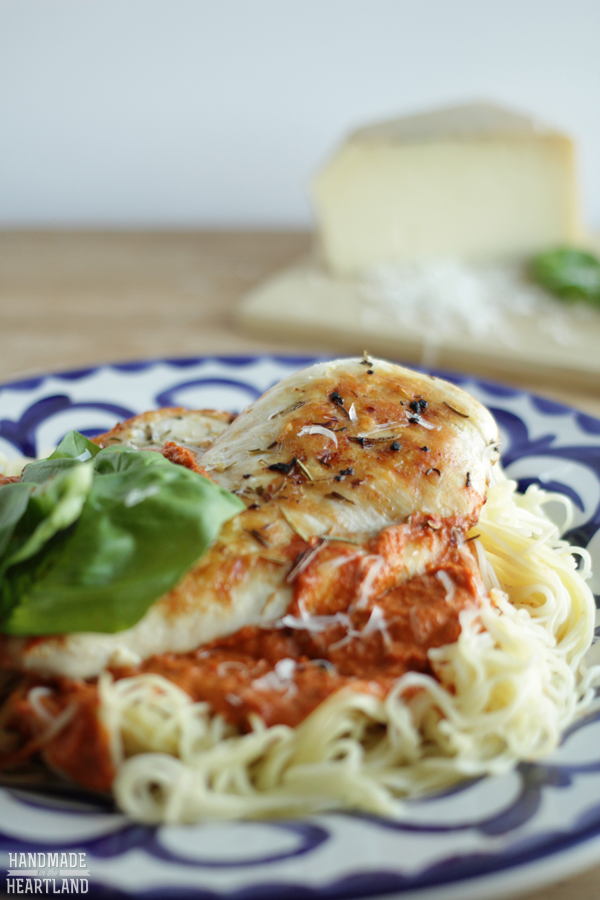 Chicken Milano: delicious dinner recipe