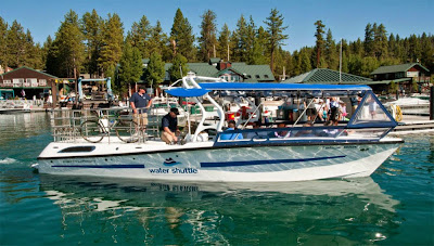 North Tahoe Water Shuttle will not float this summer