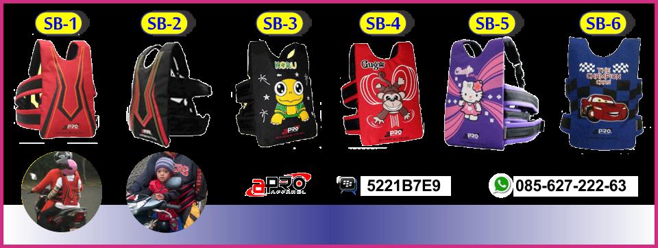 BB : 5221B7E9 | 085627-222-63 | Sabuk Bonceng Anak Apro | Sabuk Bonceng Motor | Boncengan Anak