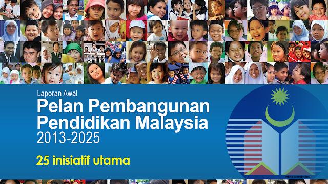 25 inisiatif utama Pelan Pembangunan Pendidikan Malaysia (PPPM)