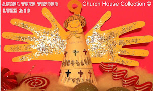 Paper Plate Angel Tree Topper Craft