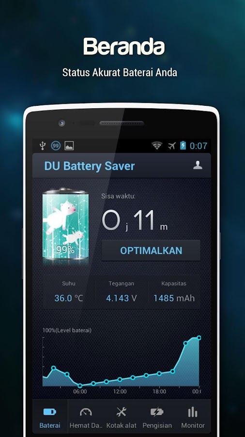 Download Gratis DU Battery Saver PRO & Widgets