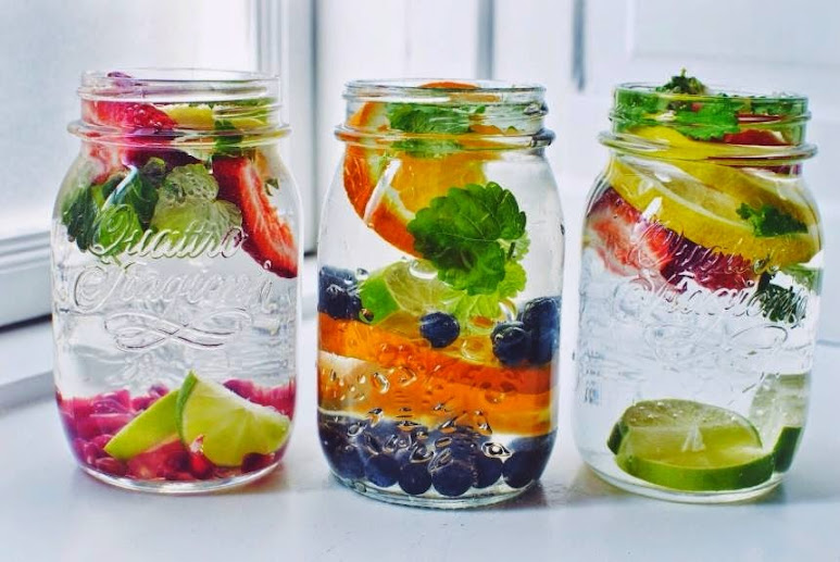 Healthy reasons to drink infused flavored water : Wiki Health Blog