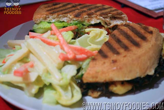 barbecue pork panini