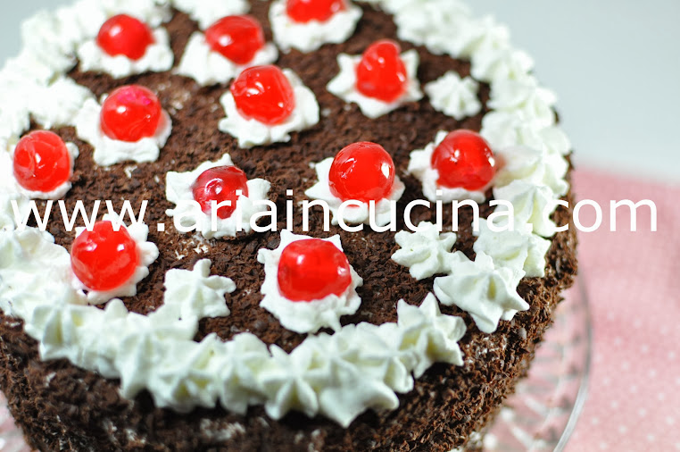 Blog di cucina di Aria: Torta Foresta Nera....e auguri amore mio!