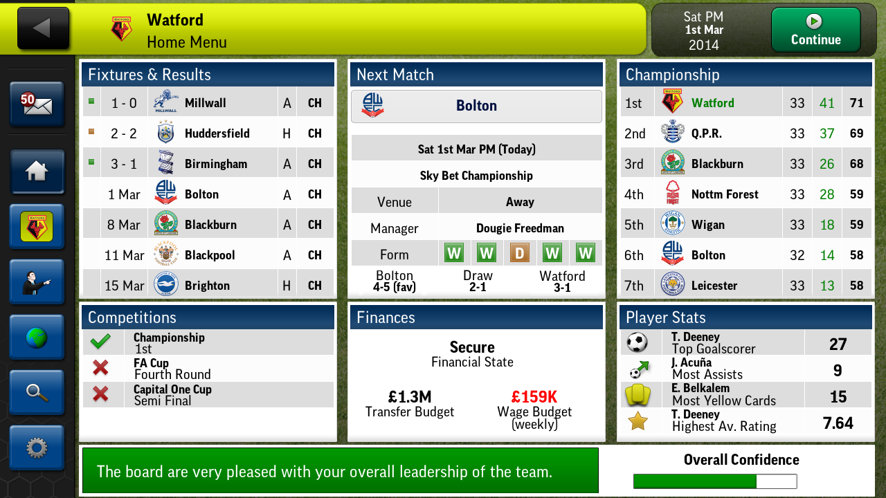 Football Manager Handled 2014 Apk Gratis
