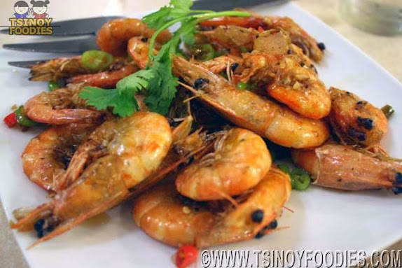 pan fried shrimp