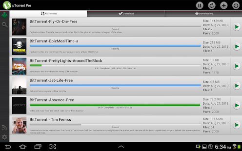 µTorrent® Pro - Torrent App v2.0.3 APK Updated!