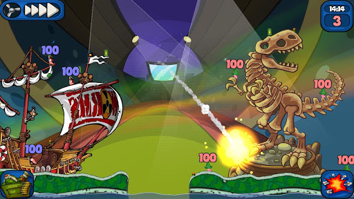 Descargar Worms 2: Armageddon v1.3.6g APK Android Full Gratis (Gratis)
