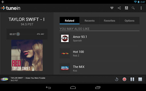 TuneIn Radio Pro Apk v7.5 Android Download