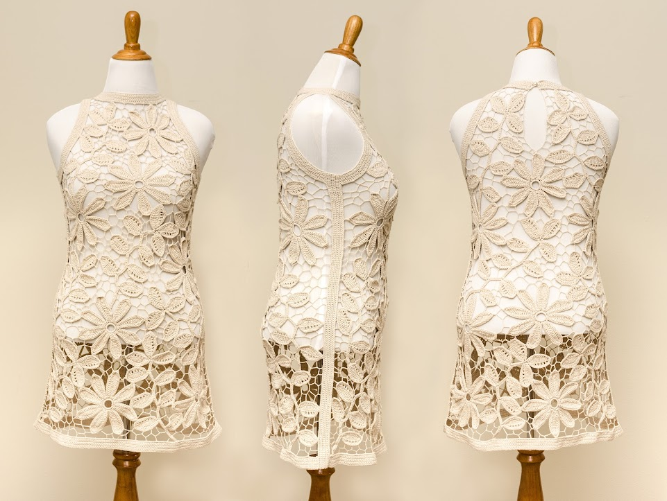 Outstanding Crochet: Irish Crochet Pattern. Tunic/Dress ...