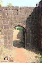 Entrance of Jaigad Fort