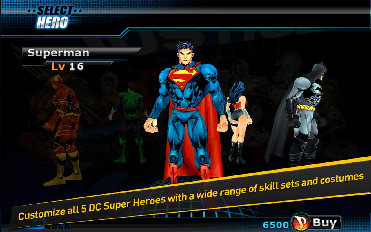 Descargar Justice League:EFD v1.0.2 Mod apk Android Full Gratis (Gratis)