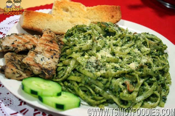 linguini pesto