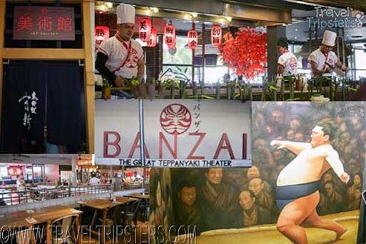 banzai the great teppanyaki theater