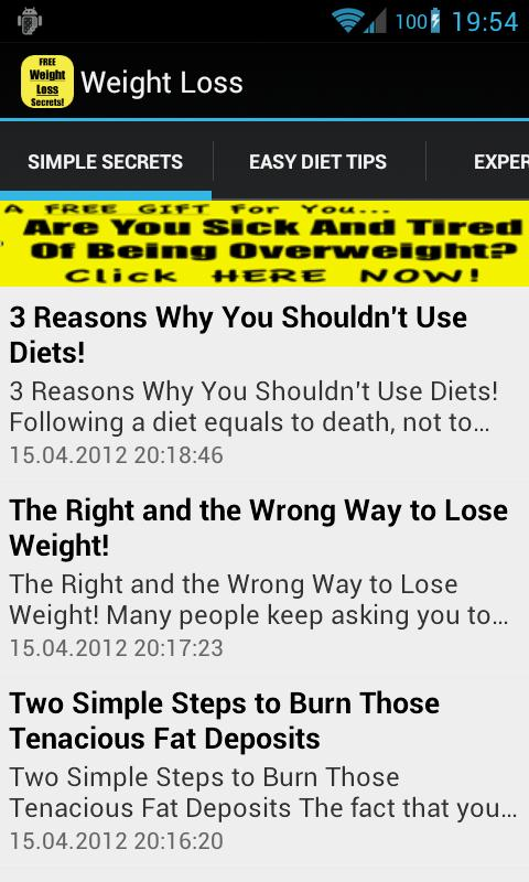 lose weight diet food plan