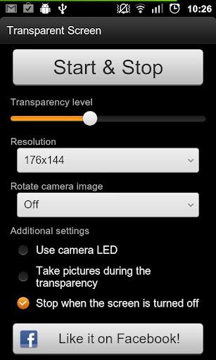 Mengubah tampilan Layar Android jadi Transparan