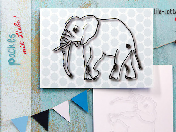 Elefant Loxo Love, Federn und Freebies