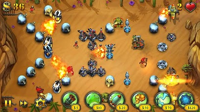 Fieldrunners HD v1.20 apk & sd data