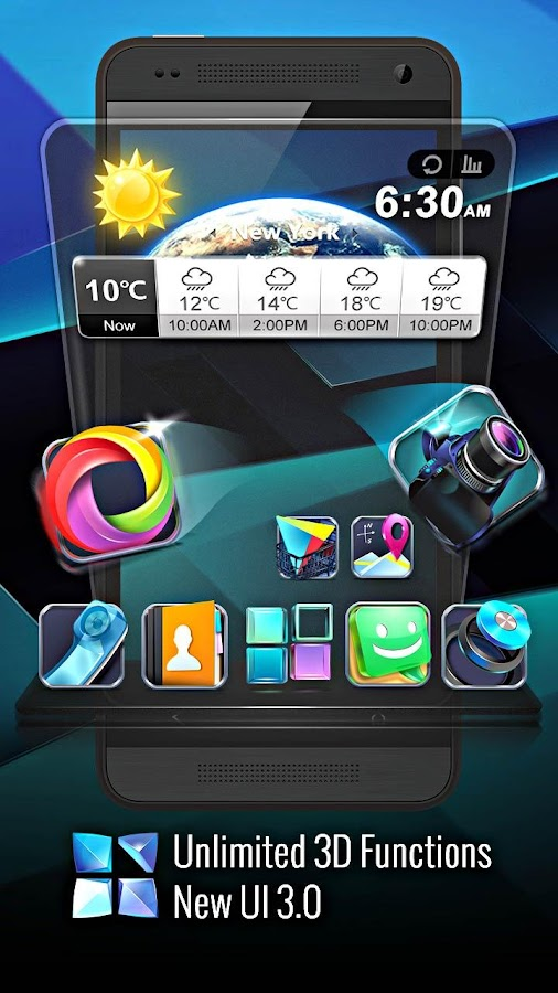 Next Launcher 3D apk