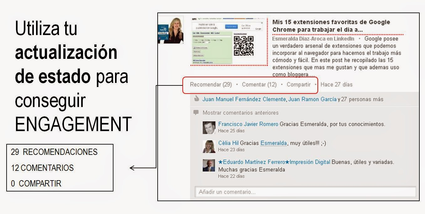 Social Sellling en LinkedIn: Como medir tu influencia. Esmeralda Diaz-Aroca