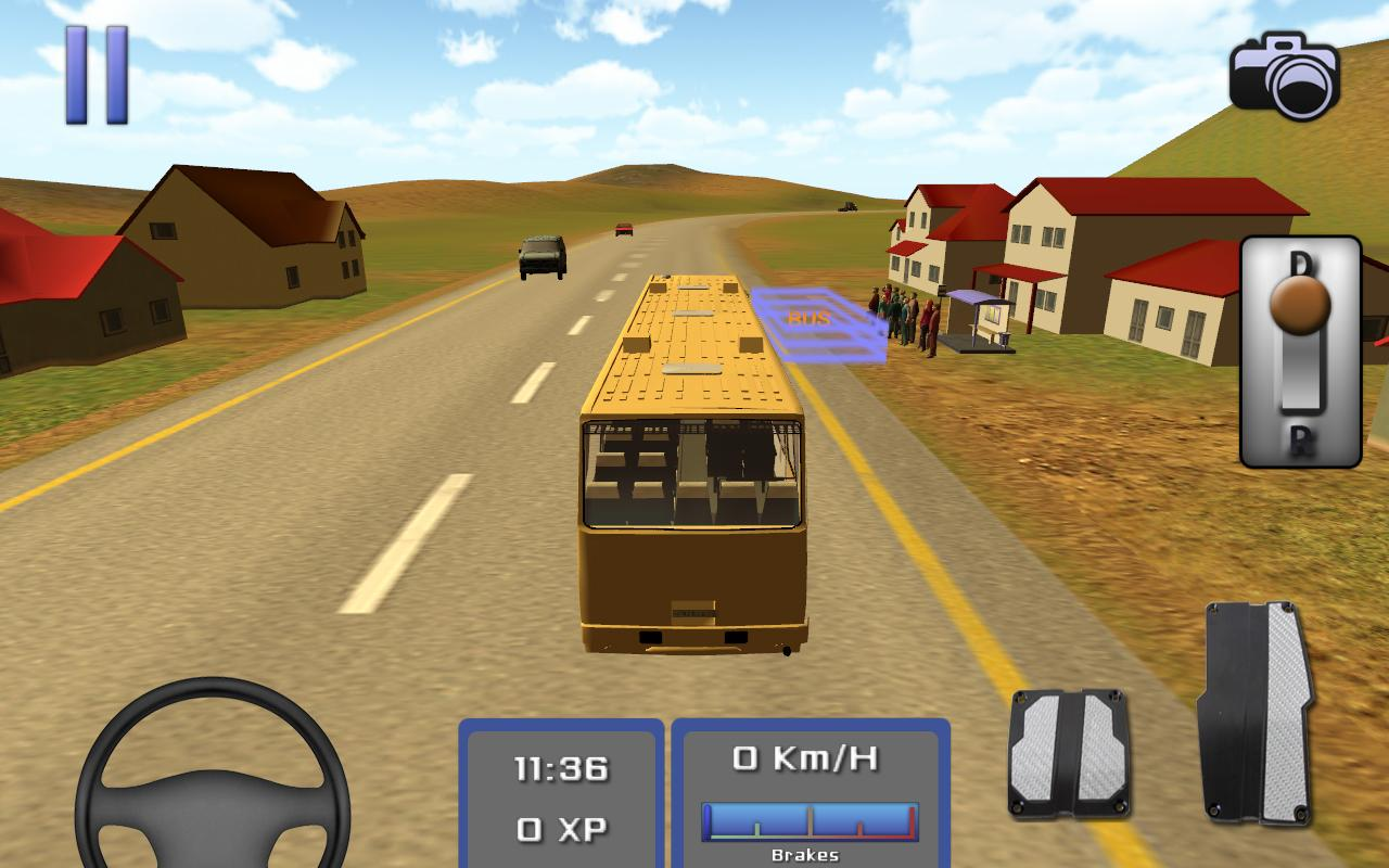 Bus Simulator 3D , Game Simulator Bus di Android Terbaik