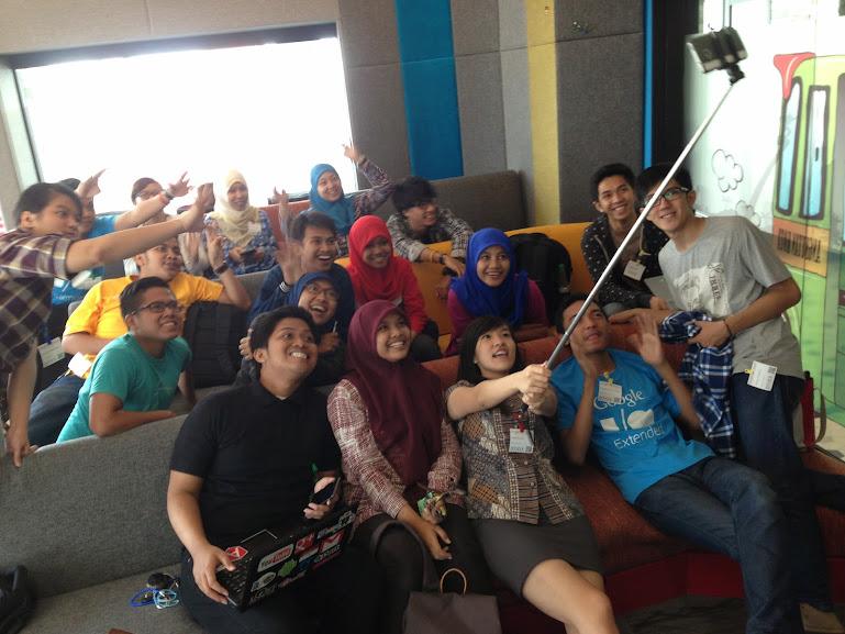 Pelatihan GAfE di kantor Google Indonesia
