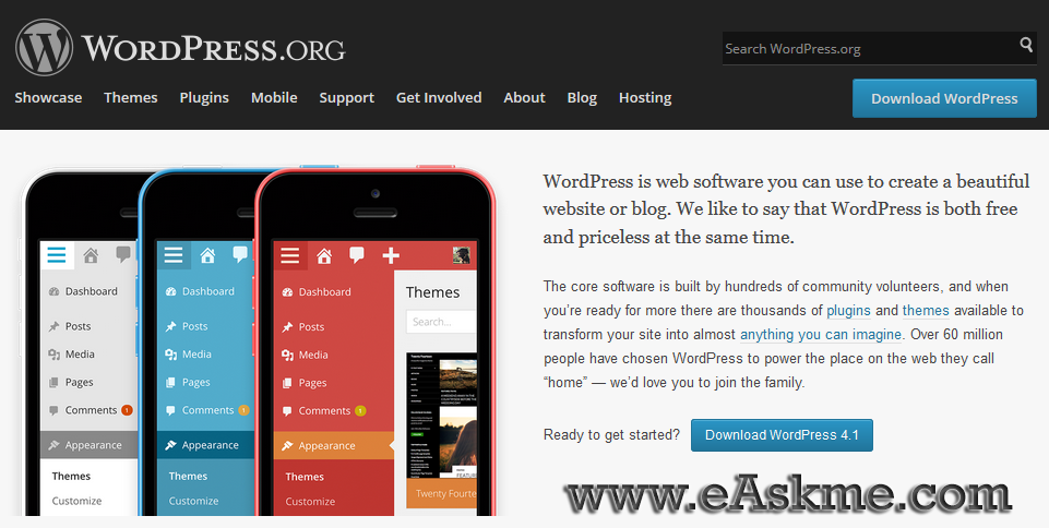 WordPress 4.1 is one the floor : Find out what`s new : eAskme