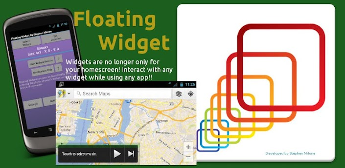Floating Widget v1.0 apk