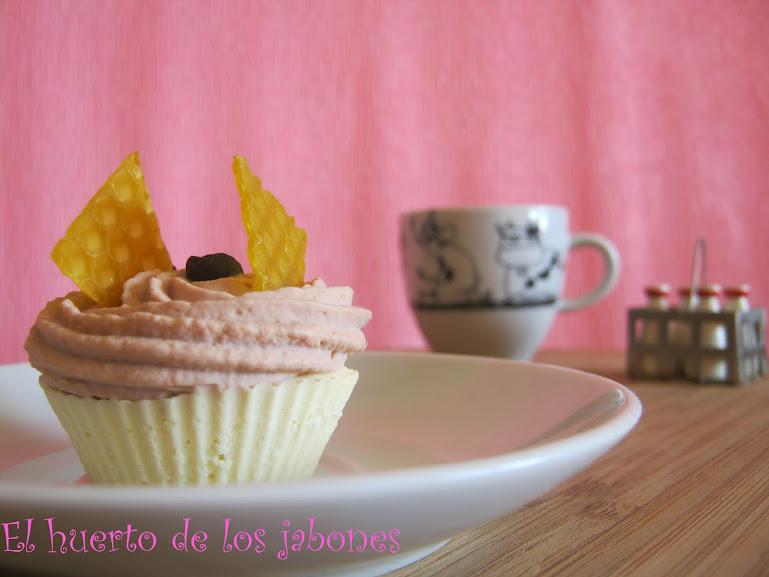 Cupcake de jabón